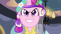 Chrysalis as Cadance 'care less about the dress' S2E26