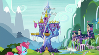Exterior view of Castle of Friendship S8E8