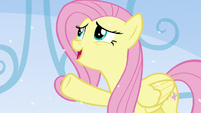 "Fluttershy ""the view is just as good a little further back"" S6E2"
