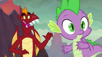 Garble happy to see Smolder S9E9