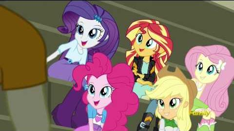 My Little Pony Equestria Girls Friendship Games - 'CHS Rally Song'