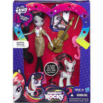 Octavia Melody Equestria Girls Rainbow Rocks doll and pony set packaging