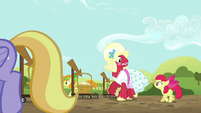 Orchard Blossom getting antsy S5E17