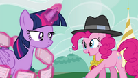 "Pinkie Pie ""they cannot help our good friend Rainbow Dash!"" S4E21"