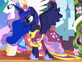 Princesa Luna Coronacion de Twilight
