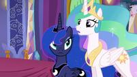 "Princess Celestia ""...has need of them in the Dragon Lands"" S6E5"