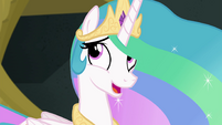 "Princess Celestia ""this is quite a contrast"" EGFF"