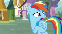 "Rainbow Dash ""she's really good at doing"" S8E18"