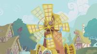 Rainbow spins around a windmill S1E06
