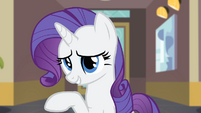 Rarity '...I just wanted to thank her first...' S4E08