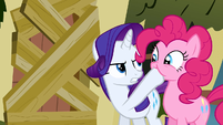 Rarity be quiet! S2E19