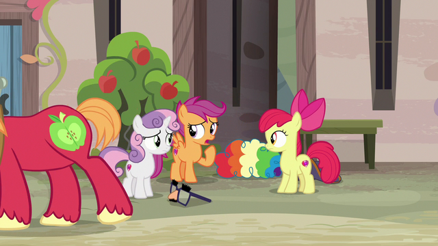 """File:Scootaloo """"possible to have two crushes at once"""" S7E8.png"""