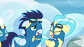Soarin and Misty Fly laugh at Rainbow S6E7.png