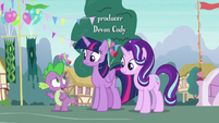 "Spike ""Thorax wrote and said he needed to talk"" S7E15"