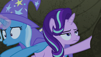 Trixie trying to teleport once more S7E17