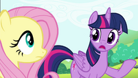 Twilight 'It must be awfully intimidating' S4E18