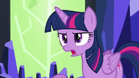 Twilight --you convinced them to not invite me--- S5E22