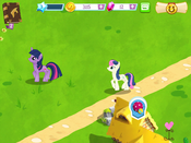 Twilight and Sweetie Drops MLP Game