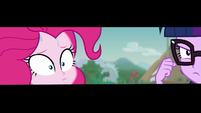 Zoom in on Pinkie sweating nervously EGDS21