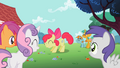 Apple Bloom showing cutie mark to other students S2E06.png