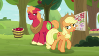 "Applejack ""have to redo that schedule"" S9E10"