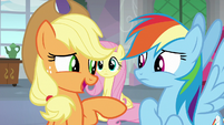 Applejack -I'm sure you're not sayin'- S8E9