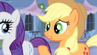 Applejack -tell him just in case- S4E24
