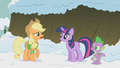 Applejack doubting Twilight S1E11.png