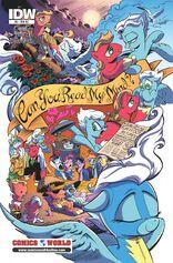 Comic issue 9 Comics World cover