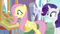 "Fluttershy ""keep their produce in the back"" S9E24"