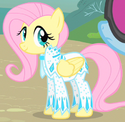 Fluttershy sparkly outfit ID S1E20