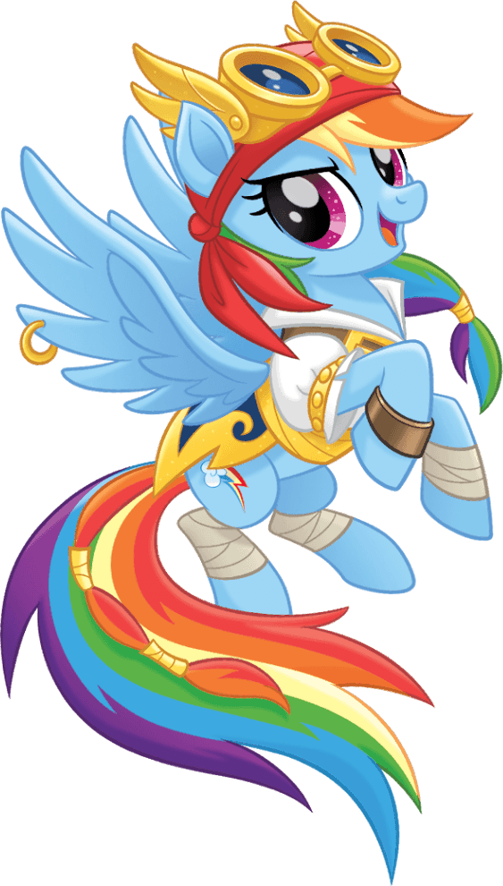image mlp the movie pirate rainbow dash official artwork png my