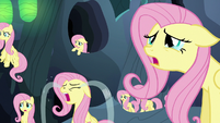 Multiple Fluttershy Changelings crying S6E26