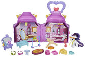 My Little Pony Rarity Booktique playset and accessories