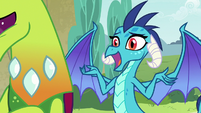 "Princess Ember ""make a decision"" S7E15"
