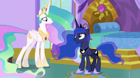 "Princess Luna ""I spend each night in"" S9E13"