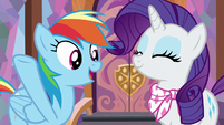 "Rainbow Dash ""let's go already!"" S8E17"