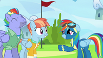 Rainbow Dash -so... good... to see you- S7E7