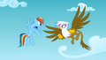Rainbow Dash and Gilda argue S1E5.png