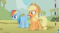 Rainbow Dash sweating S1E13.png