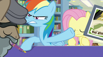 Rainbow smacks Martingale's book away S9E21