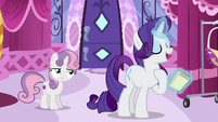 "Rarity ""yes, that's what I said"" S6E14"