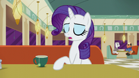 Rarity --Turns out there's a Club Pony Party Palace...-- S6E9