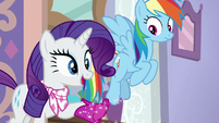 Rarity -if I follow the culprit's clues- S8E17