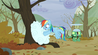 S05E05 Rainbow chowa chmury