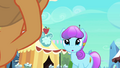Sapphire Joy confused by Applejack S3E02.png