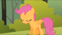 Scootaloo wing error S1E23