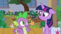 """Spike """"she's bound to be back soon"""" S9E5"""