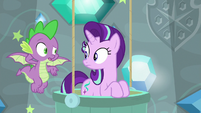 Spike -I don't think magic is the answer- S8E15