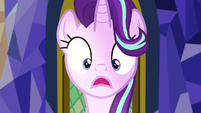 Starlight Glimmer looks at the Cutie Map S7E15